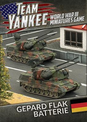 TGBX07 Gepard Flakpanzer Batterie (front)
