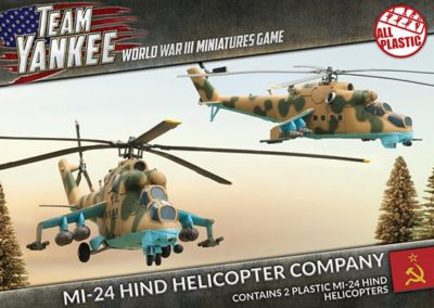 TSBX04 Mi-24 Hind Companie d'hélicoptères (front)