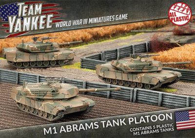 TUBX01 M1 Abrams Tank Platoon (front)