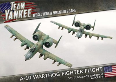 TUBX06 A-10 Warthog Fighter Flight (front)