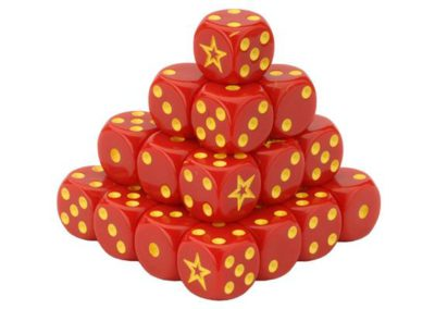 TSU900 Soviet Dice Set